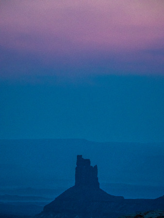 Late evening at Island in the Sky in Canyonlands National Park in Utah