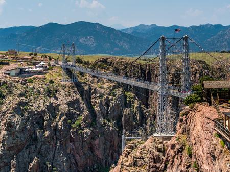Royal Gorge Bridge, the tallest suspension bridge in Colorado