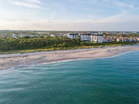 Flight over the Atlantic Coast of South Florida Reklamní fotografie