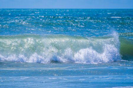 Stock photo of ocean surf