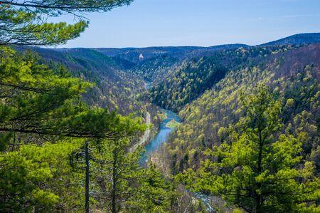 Grand Canyon of Pennsylavnia - the local landmark