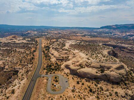 Aerial view of Colorado Plateau