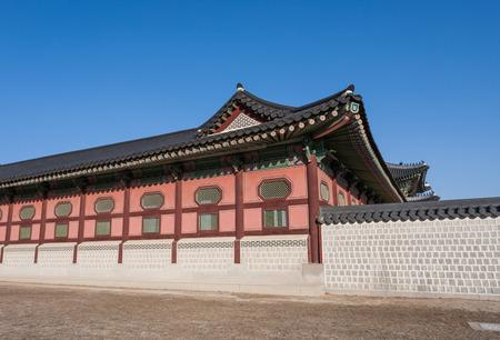 gyeongbokgung: Gyeongbokgung Palace in Seoul, South Korea Editorial