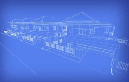 housing development: Background abstract