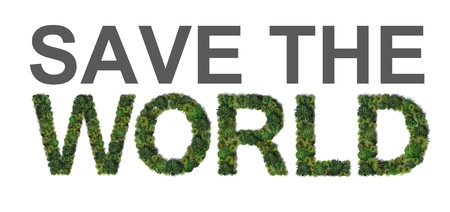 Save the world  photo