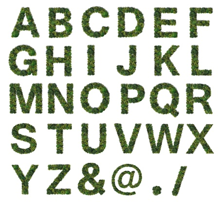 Tree Alphabet set