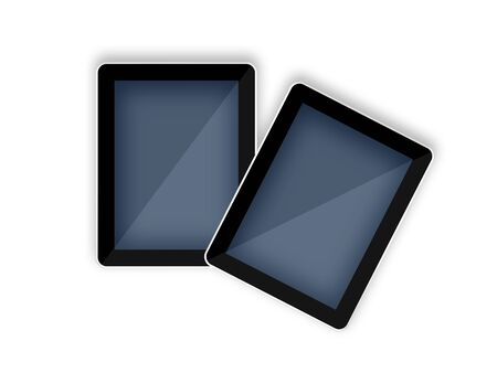 3d tablet pc computer  photo
