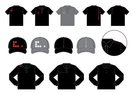 blank t shirt: Illustration