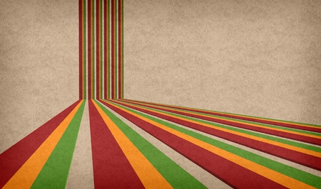 background with classic reggae colors  photo