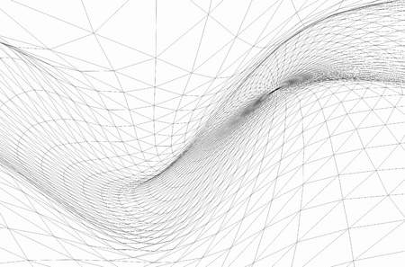wire frame: Abstract wireframe