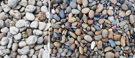 Colourful pebbles  photo