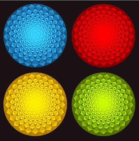 3D colorful ball  photo