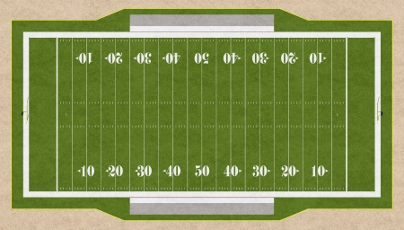 3d american football field pattern  photo