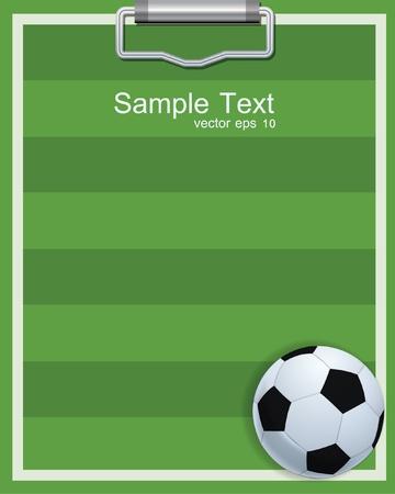 soccer ball on the field Imagens - 21950880