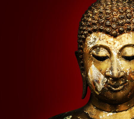 Buddha Face Grunge Background  photo