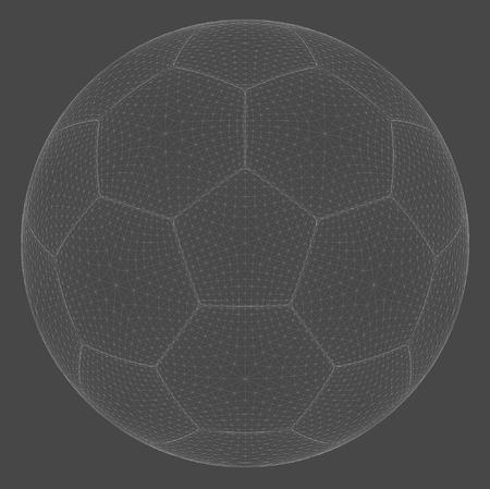 Wireframe spheres Stock Vector - 22951143