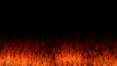 blaze fire flame texture background  3d render Stock Photo - 24969477