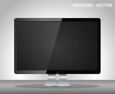 Vector computer display Stock Vector - 23833087