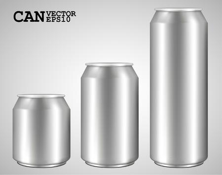 unprinted: latas de aluminio aislados en blanco ideal para la cerveza, cerveza, alcohol, bebidas gaseosas, soda, gaseosas pop, limonada, refrescos de cola, bebidas energ�ticas, zumos, agua, etc dibujado con la herramienta de malla totalmente ajustable escalable