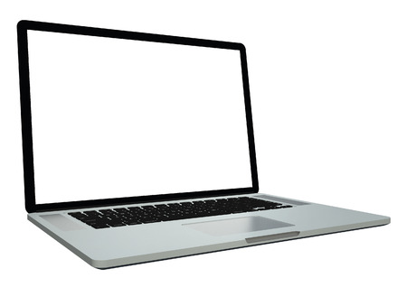 Laptop isolated on white background Stock fotó - 25250288