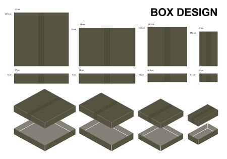 shipped: Package box design, vector illustration