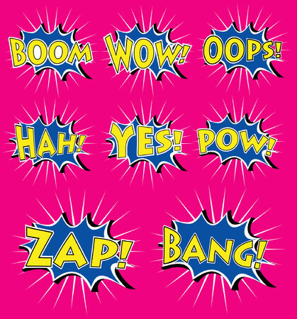 comics icon over background vector illustration  Vector