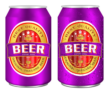 low prizes: Beer Label vector visual on aluminum drinks can, ideal for beer, lager, ale, stout etc. Can drawn with mesh tool. Fully adjustable & scalable.