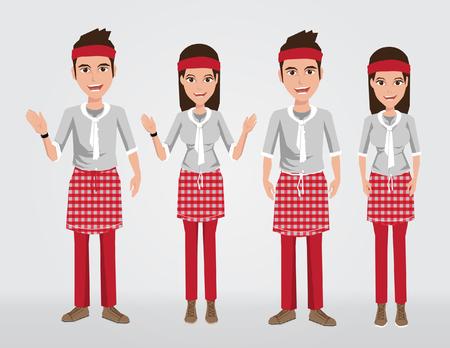 the latest models: Fashion uniform set