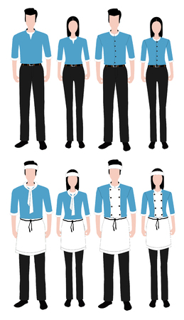 the latest models: Fashion uniform set.
