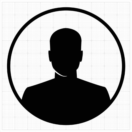 profile silhouette: People profile silhouettes. vector illustration Illustration