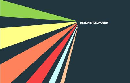 rayas de colores: Rayas de colores dinámicos. Resumen de antecedentes vintage