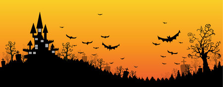 Halloween design background Ilustração