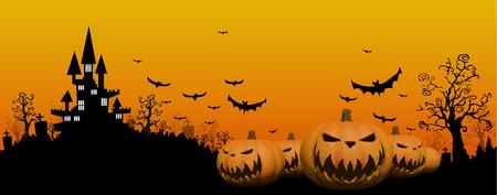 halloween background: Halloween design background Illustration