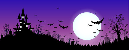 Halloween design background 矢量图像