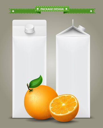 scalable: White carton boxes, ideal for fruit juice. Can drawn with mesh tool. Fully adjustable  scalable. packages design