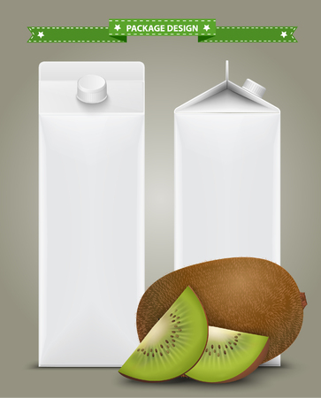 non alcoholic: White carton boxes, ideal for fruit juice. Can drawn with mesh tool. Fully adjustable  scalable. packages design