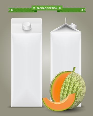 tool boxes: White carton boxes, ideal for fruit juice. Can drawn with mesh tool. Fully adjustable  scalable. packages design