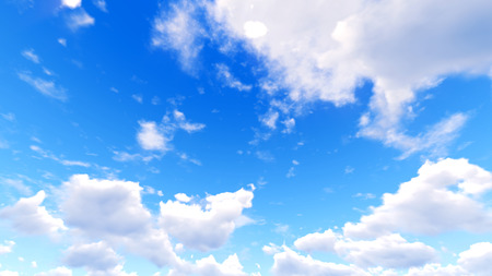 clouds and sky: Sky clouds. 3d