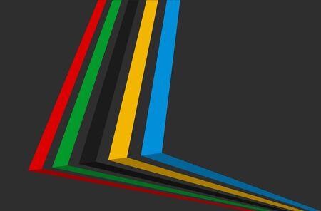 textfield: 3d illustration, Sport games background.