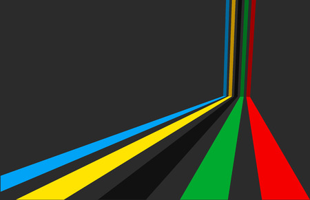 3d illustration, Sport games background.
