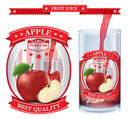Fruit juice Label visual
