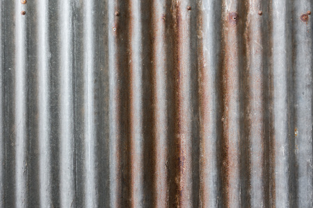 Zinc sheet rust texture background 免版税图像