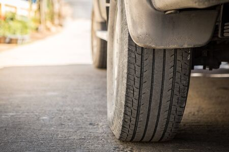 Off-road wheels on the road