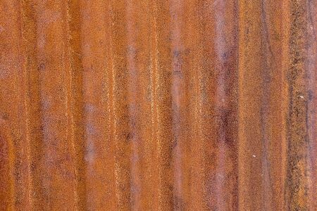 Rust on the zinc wall texture background