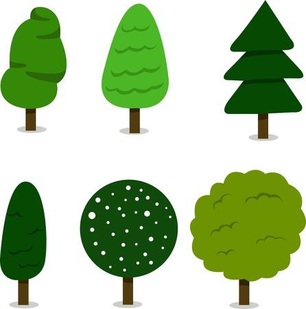 Illustrator of tree Stock Vector - 20860610