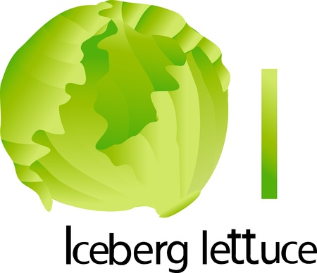 font i with iceberg lettuce