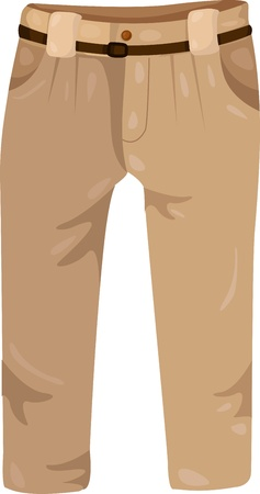 Illustrator of Trousers Vector