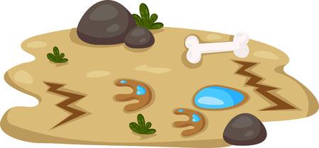spoor: illustration of spoor dino