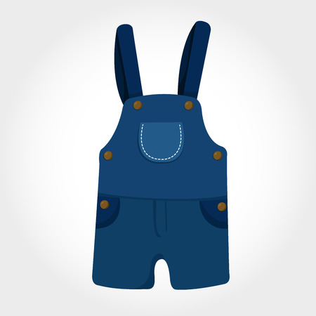 dungarees: Illustrator of Dungarees Illustration