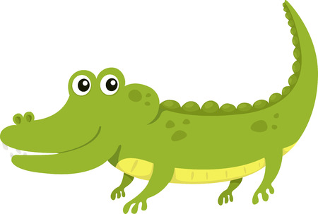 Illustrator of alligator